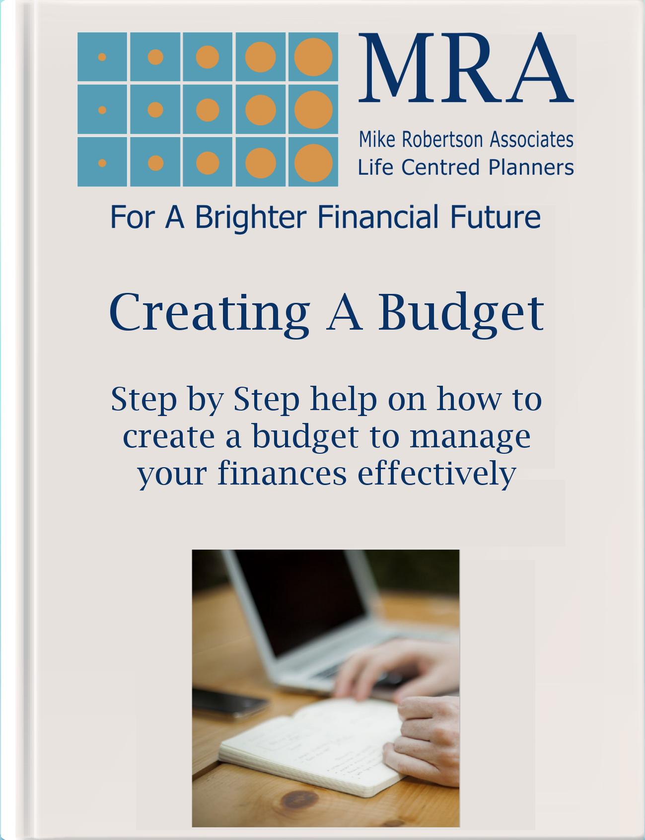 Creating a Budget Ebook