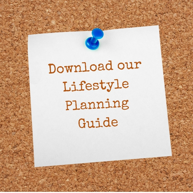 Download our Lifestyle Planning Guide